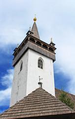 Reformed Church (Elizabethan church XIII c.), Khust, Ukraine