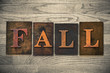 Fall Wooden Letterpress Theme - 81195523