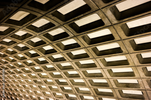 Washington DC subway station - 81195980
