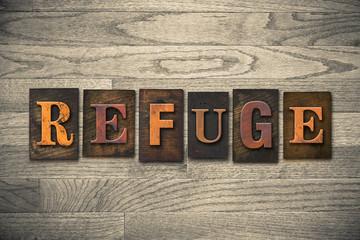 Refuge Wooden Letterpress Theme
