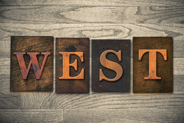 West Wooden Letterpress Theme