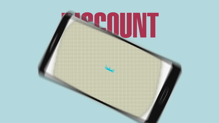 Promotion of Sale, Discount 40%, effective sale alarm.ver 2