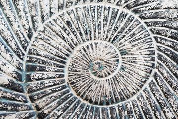hintergrund - schneckenförmige steinspirale