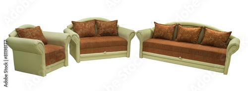 Leinwanddruck Bild Furniture