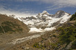 Looking up a Glacial Valley in the Andes - 81199168