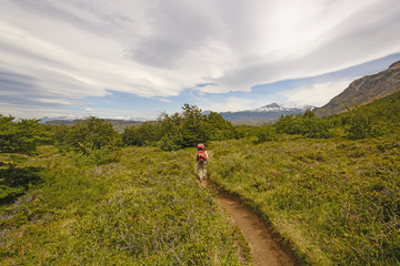 Hiking into the Patagonian Highlands