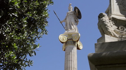 Athena, the ancient Greek goddess