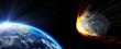 Impact Earth - meteor in route collision - 81199520