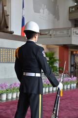 国父記念館 衛兵