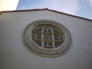 ロサンゼルスの教会の丸窓
