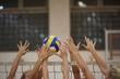 Leinwanddruck Bild - volleyball
