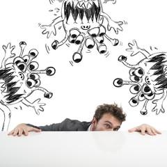 Man hides virus