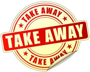 take away label
