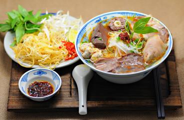 Vietnamese noodles soup