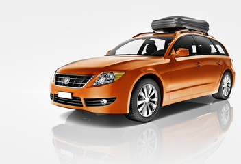 Car Automobile Contemporary Drive Vehicle Transportation Concept