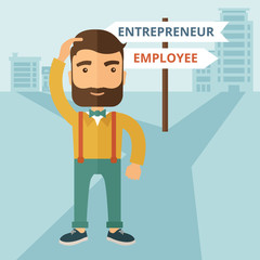 Employee to entrepreneur