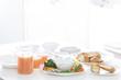 朝食のバーニャカウダー