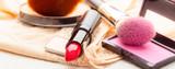 Makeup supplies various cosmetics.