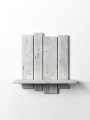 modern wooden bookshelf