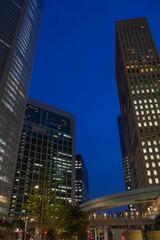 汐留ビル群の夜景