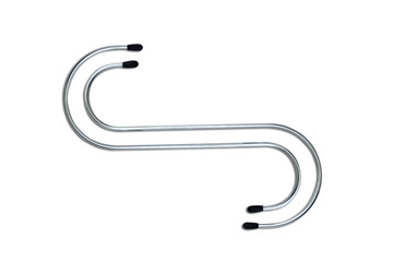 Hooks isolated on white