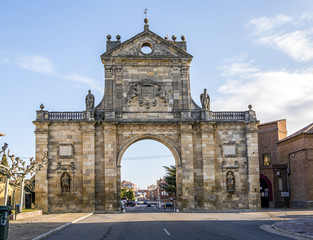 Arc of St. Benedict in Sahagun, Spain