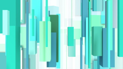 Abstract greentone background with vertically rectangulars