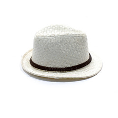 panama white straw hat