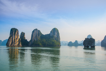 Asia, country of Vietnam, Phan Thiet. Mountains.Ha long Bay.