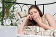 Leinwanddruck Bild - Schlaflos