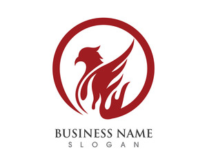 Falcon Logo Template 3