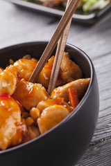 Chinese chicken sweet and sour sauce