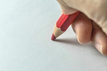 write on white paper
