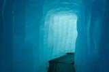Corrindor inside the Rhone Glacier, Switzerland