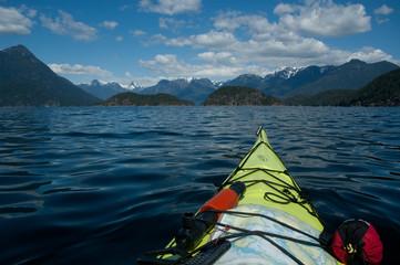 Kayaking in Desolation Sound near Vancouver