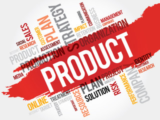 Word Cloud with Product related tags