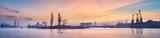 Poranny widok na port w Szczecinie - 81216312