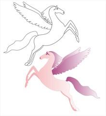 Розовый пегас