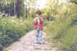 Obrazy na płótnie, fototapety, zdjęcia, fotoobrazy drukowane : niño en primavera