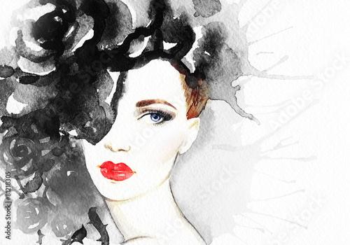 fashion illustration © Anna Ismagilova