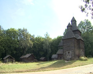 Wooden building, church