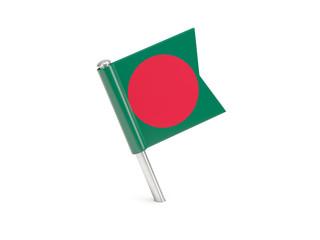 Flag pin of bangladesh