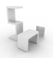 Blank pedestals