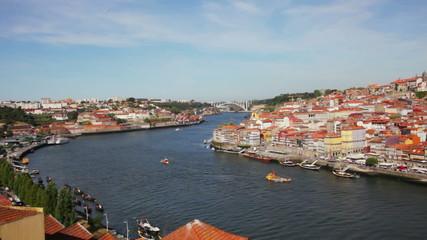 Quarter of Ribeira to Porto .