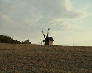 Hitting the camera on a windmill