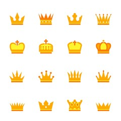 Color crown icons