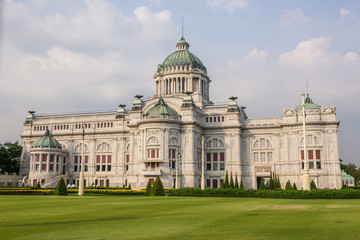 The Ananta Samakhom Throne Hall.