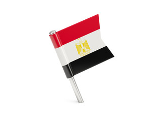 Flag pin of egypt