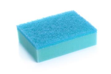 Kitchen sponges isolated on white background