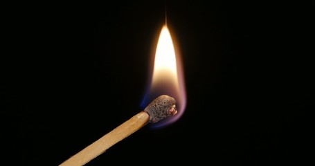 4K - Ignition of a Matchstick